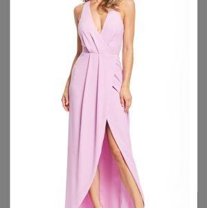 Dress the population wrap dress